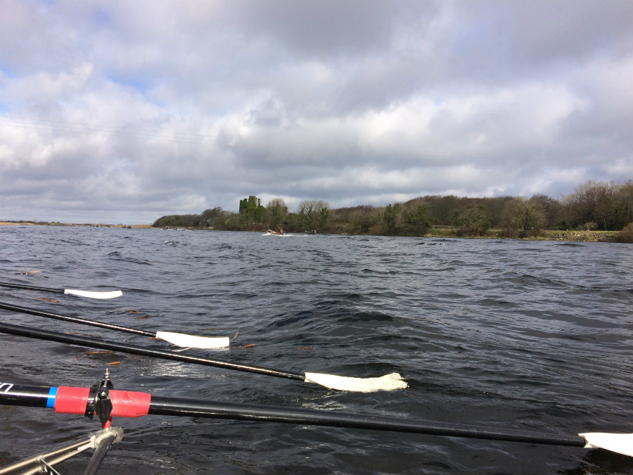 Gillian Carolan southerly winds on the Corrib