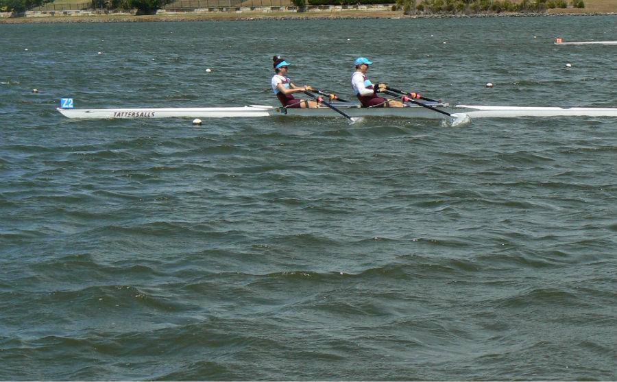 Ross and Lauren Williams, Urban Rowing regatta 2016