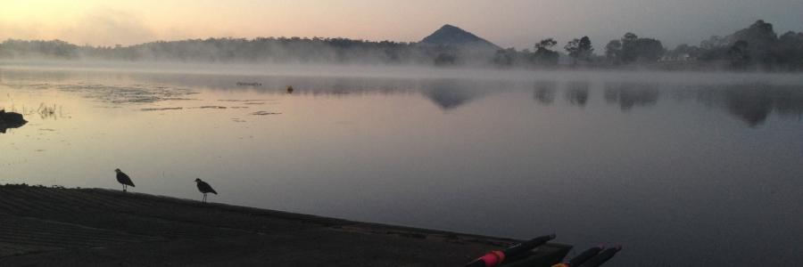 Sunrise at Lake Macdonald